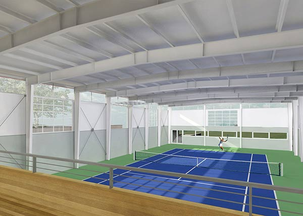 Private Residence Tennis Court