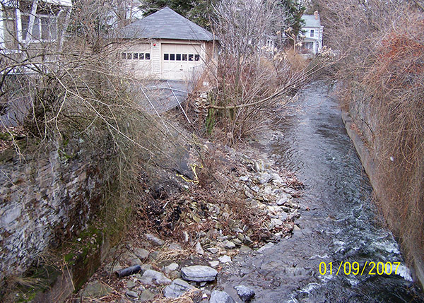 Retaining Wall on Cascadilla Creek 1