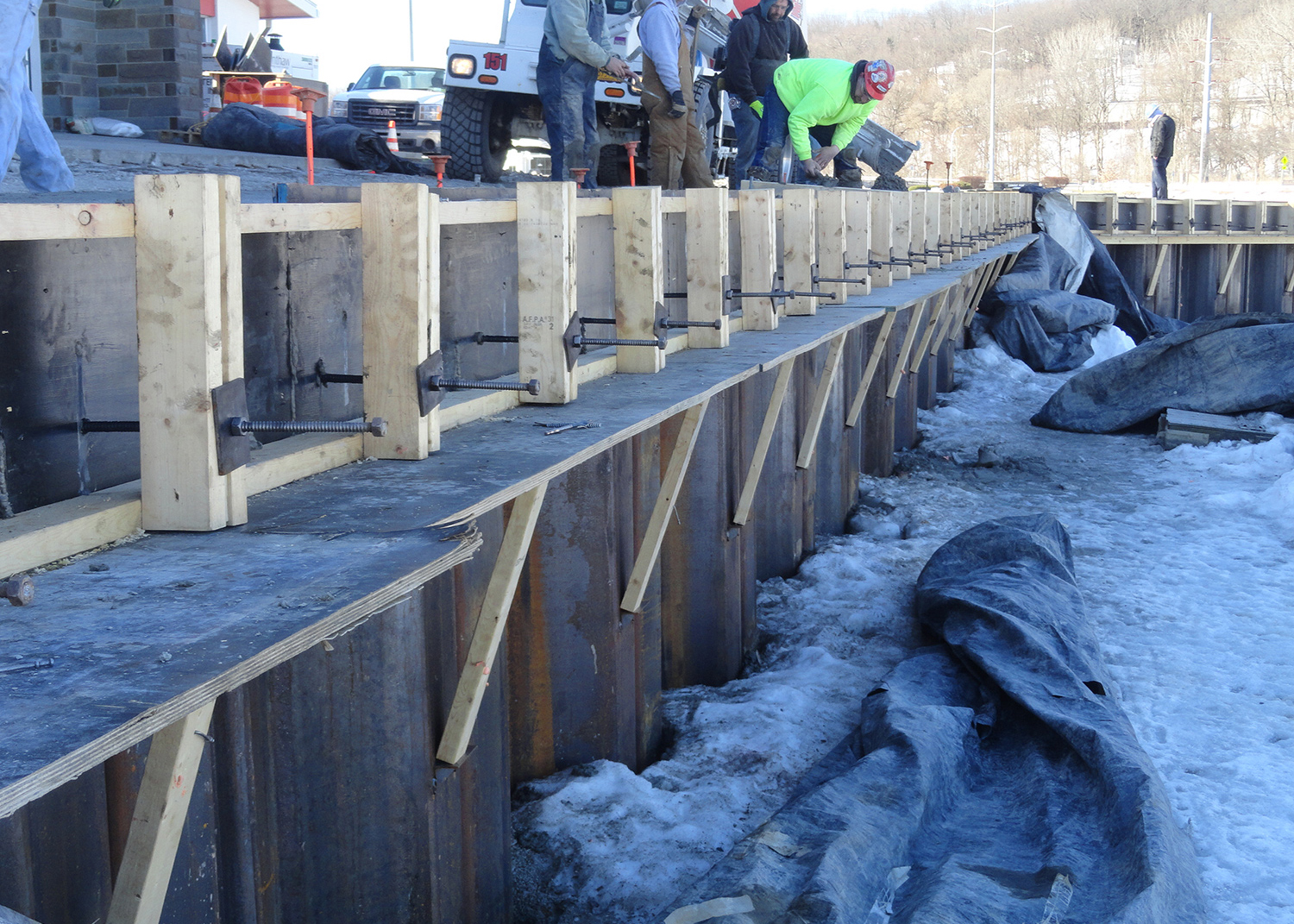 Cornell Collyer Rowing Center Seawall Replacement 1