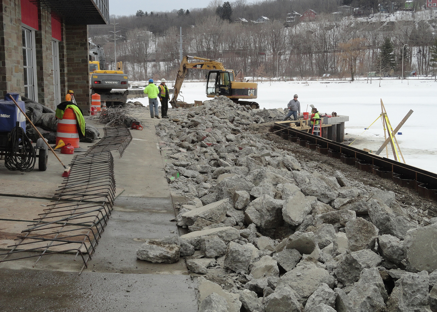 Cornell Collyer Rowing Center Seawall Replacement 5